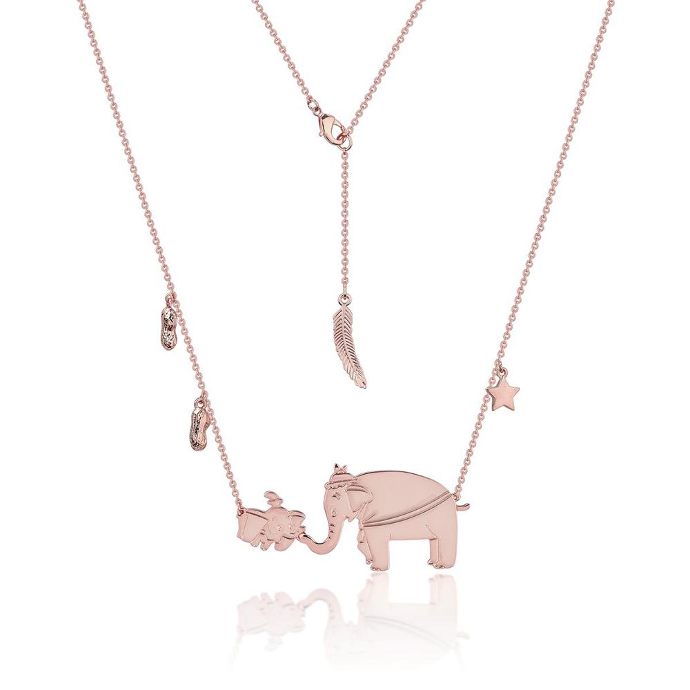 Disney Dumbo & Mrs Jumbo Rose Necklace Necklaces Disney by Couture Kingdom