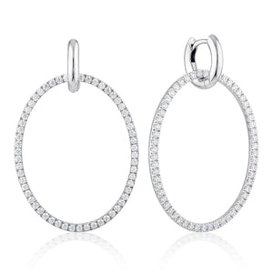 Georgini Julietta Oval Drop Earrings