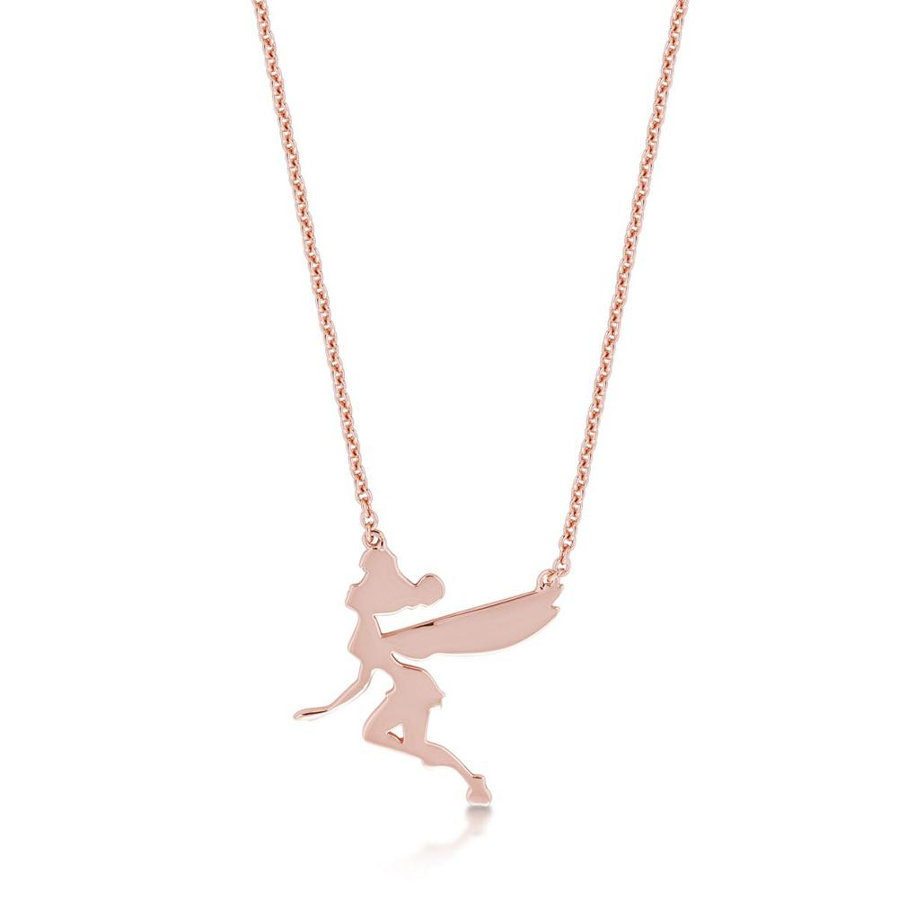 Disney Tinker Bell Rose Necklace Necklaces Disney by Couture Kingdom