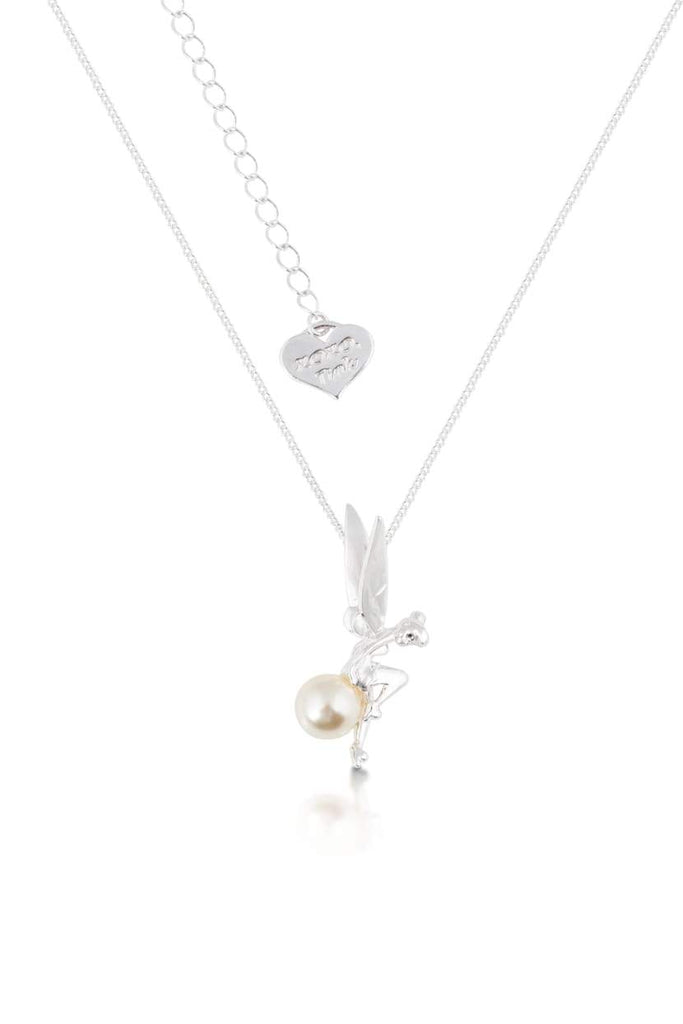 Disney Tinker Bell Pearl Necklace Necklaces Disney by Couture Kingdom