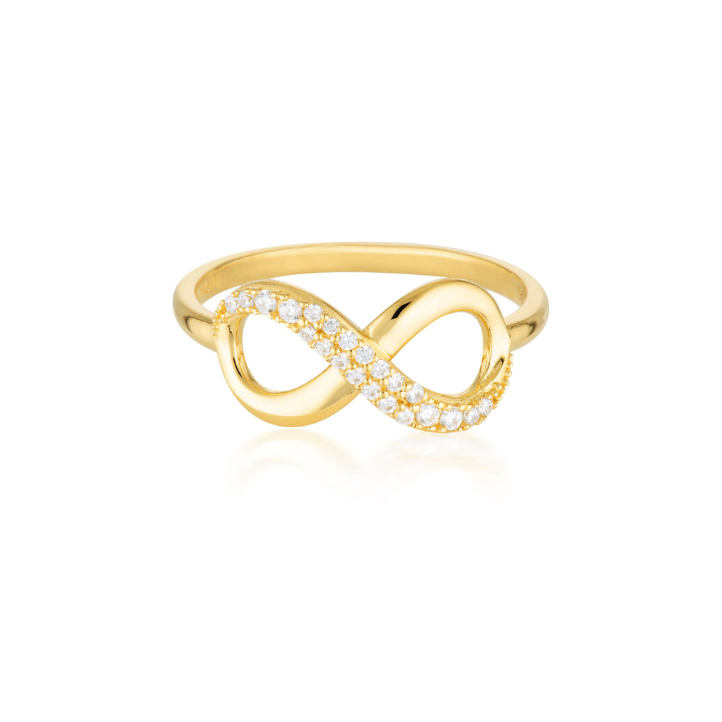 Forever Infinty Ring - Gold Bevilles Jewellers