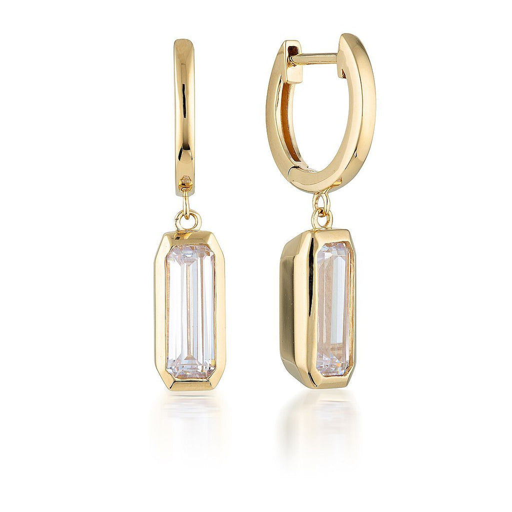 GEORGINI EMILIO GOLD DROP EARRINGS Bevilles Jewellers