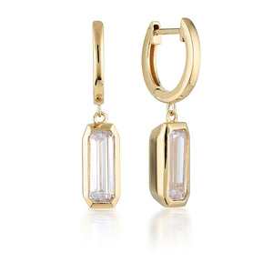 Georgini Emilio Gold Drop Earrings