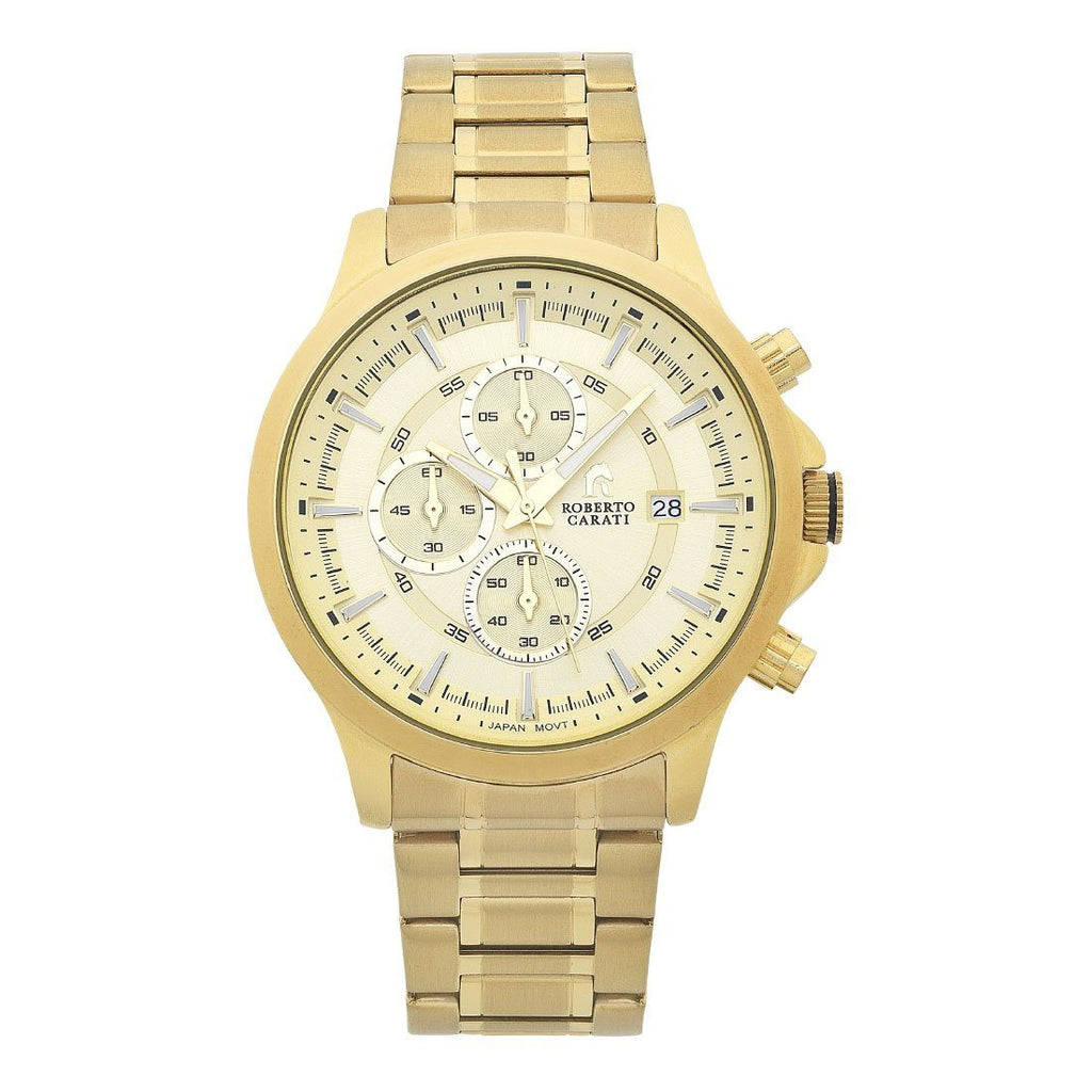 Roberto Carati St. Louis Gold Multifunction Watch Watches Bevilles Jewellers