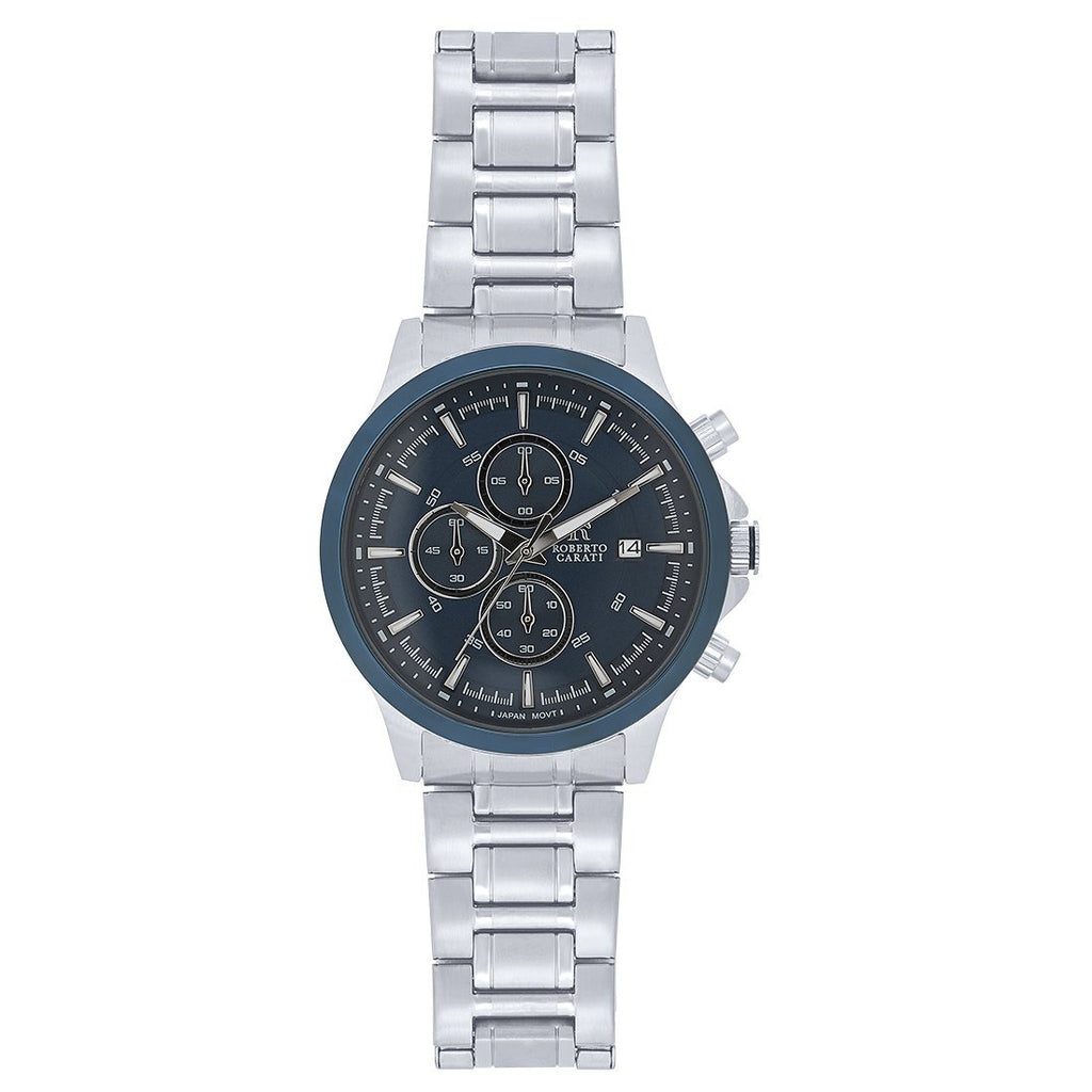 Roberto Carati St. Louis Silver Bezel Watch CA261-V5 Watches Roberto Carati