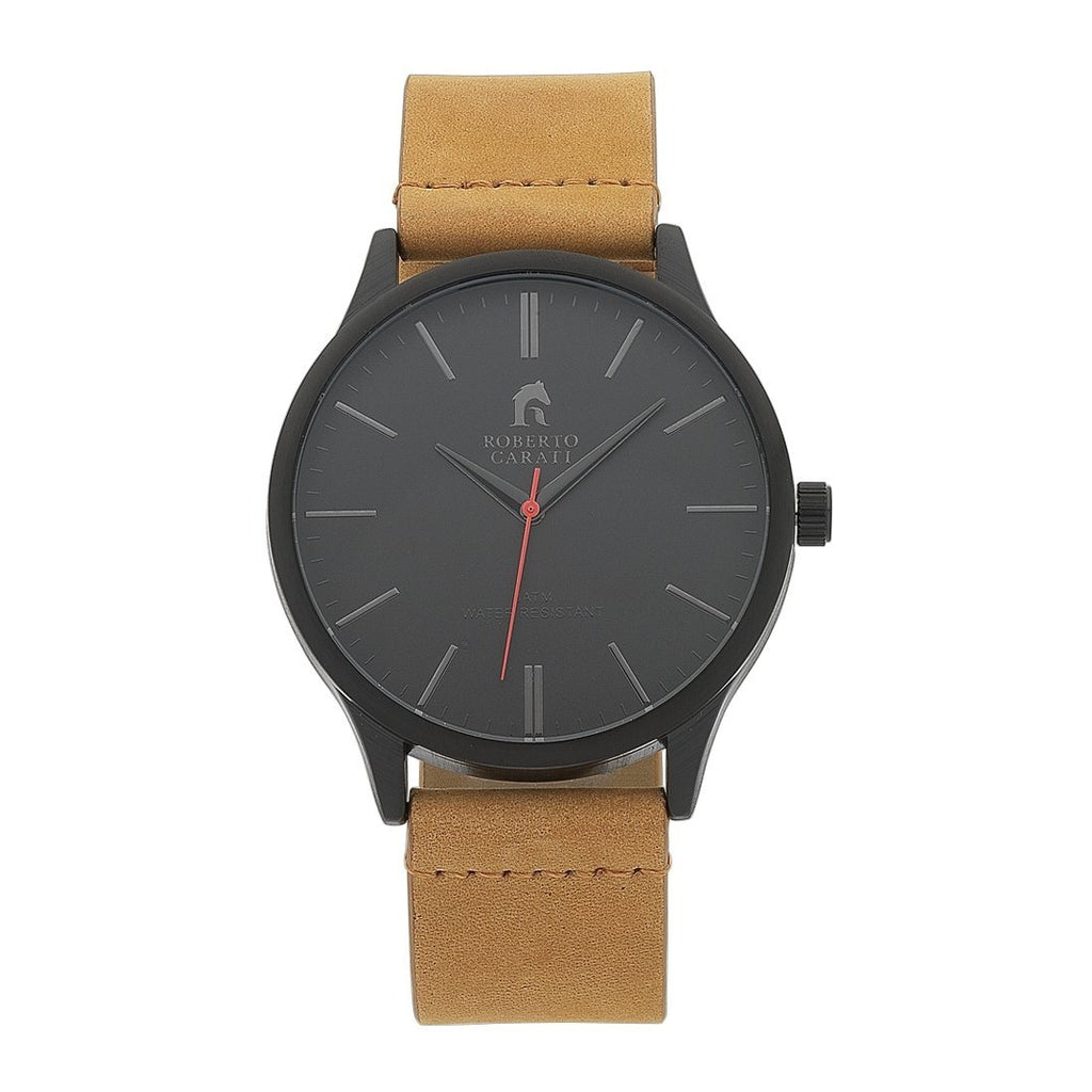 Roberto Carati Alexander Brown Leather Watch Watches Roberto Carati