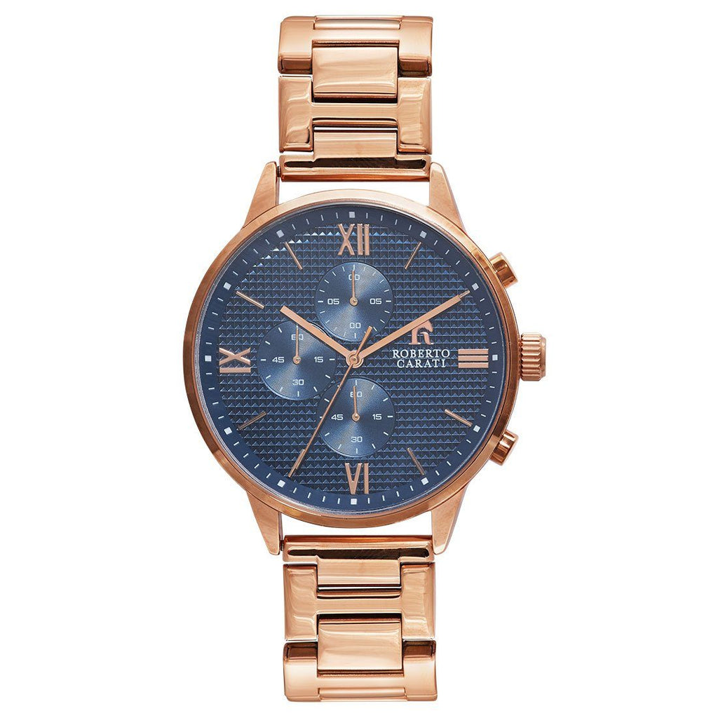 Roberto Carati Jarrod Multifunction Rose Gold Watch Watches Roberto Carati