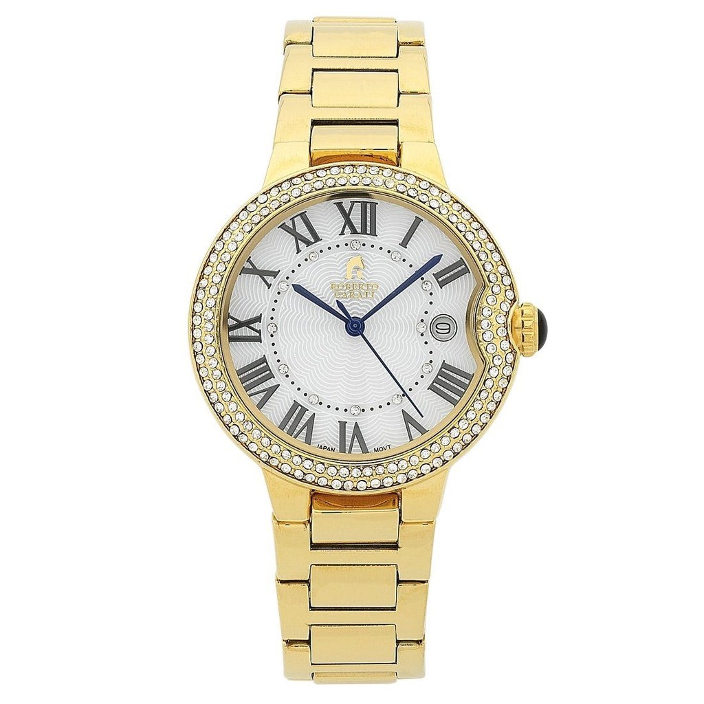 Roberto Carati Taylor Gold Stone Set Watch Watches Roberto Carati