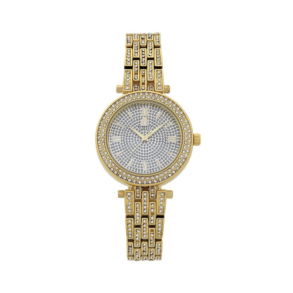 Roberto Carati Jackie Gold Ladies Watch Watches Roberto Carati