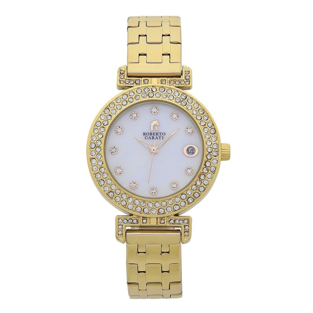 Roberto Carati Kristen Gold Watch Watches Roberto Carati