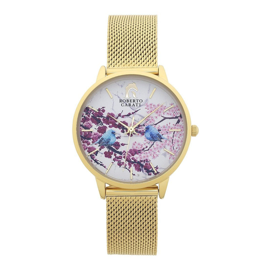 Roberto Carati Gold Tyra Watch