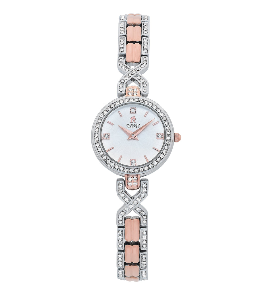Roberto Carati Indii Ladies Two Tone Watch Watches Roberto Carati