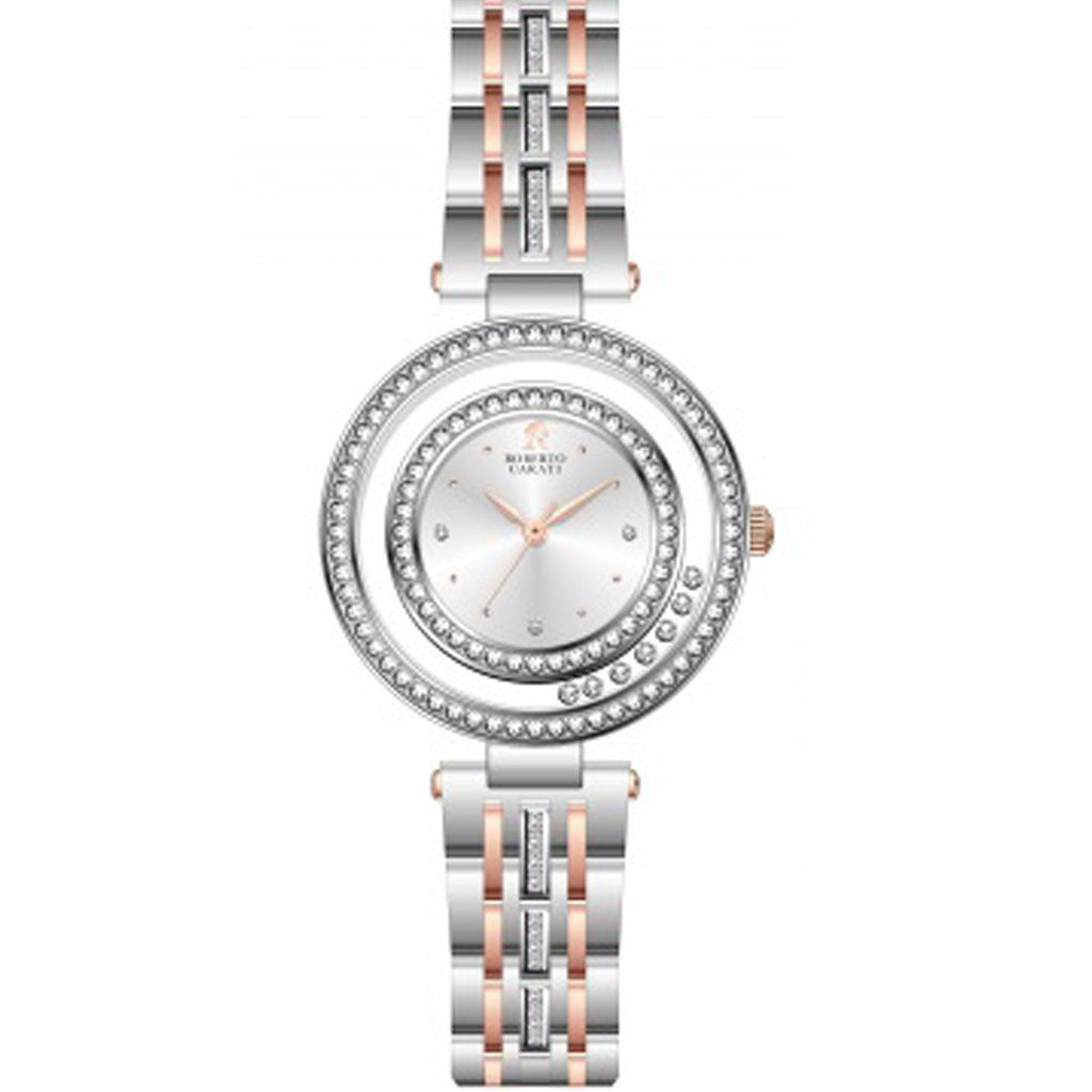 Roberto Carati Tora Two Tone Silver Lucky Rings Watch Watches Roberto Carati