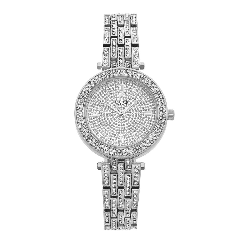 Roberto Carati Jackie Silver Ladies Watch Watches Roberto Carati