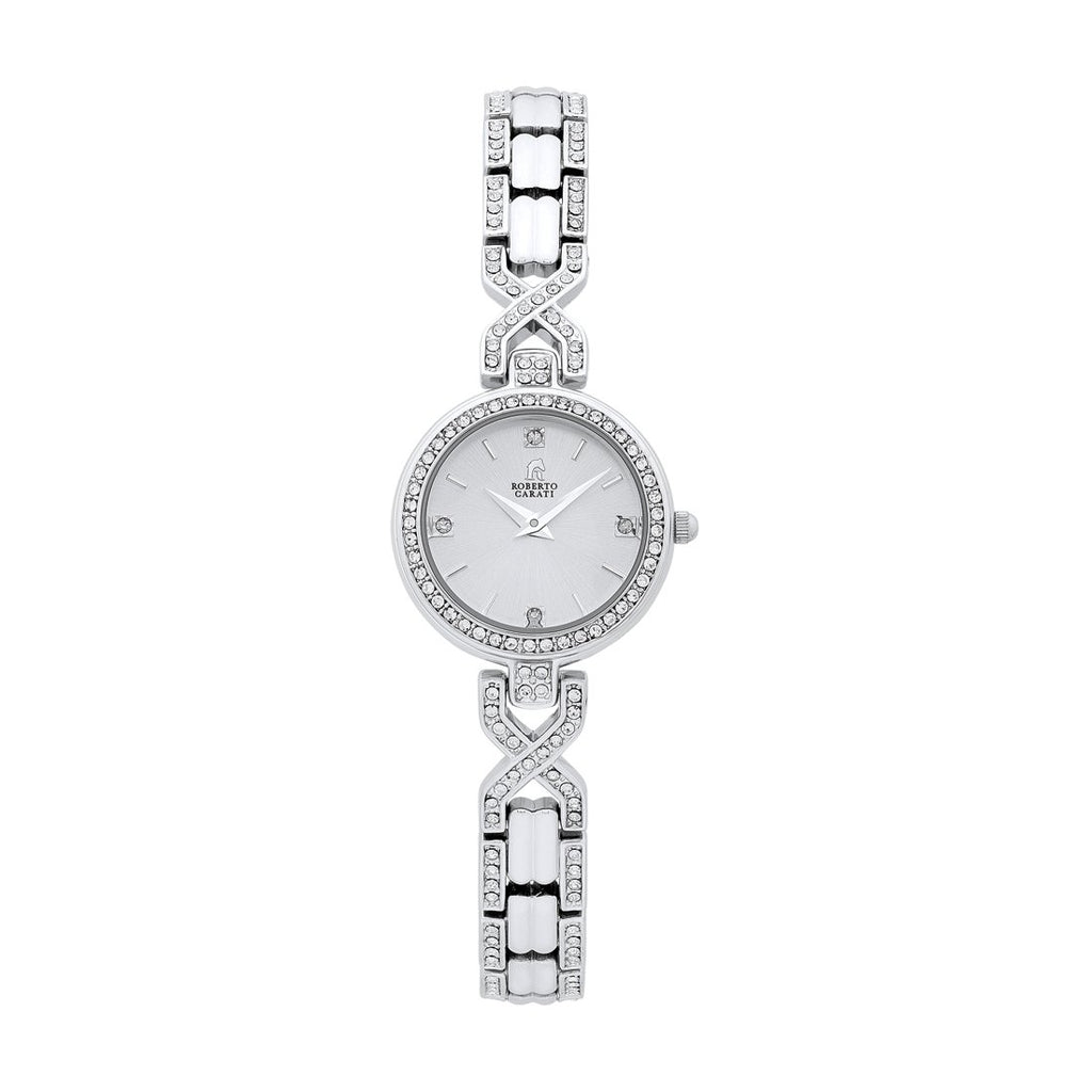 Roberto Carati Indii Ladies Silver Watch