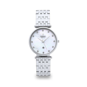 Roberto Carati Elizabeth Diamond Face Silver Watch