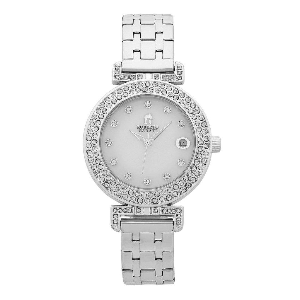 Roberto Carati Kristen Silver Ladies Watch Watches Roberto Carati
