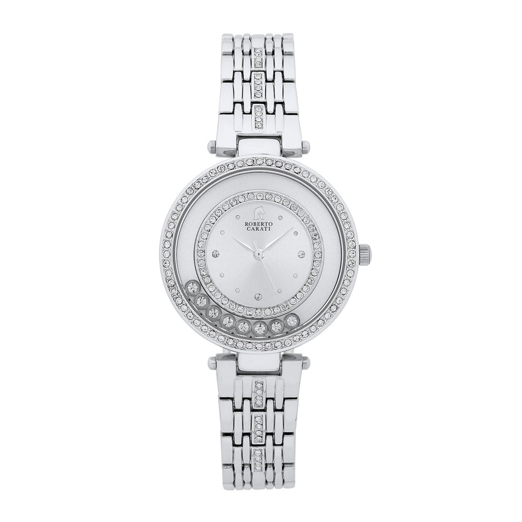 Roberto Carati Tora Crystal Case Watch Watches Roberto Carati