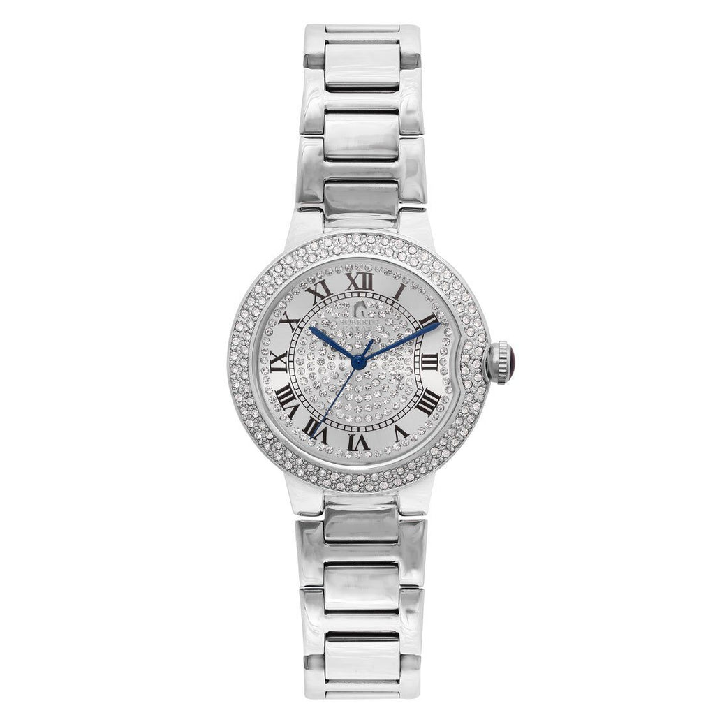 Roberto Carati Envy Crystal Silver Watch M8010-S Watches Roberto Carati