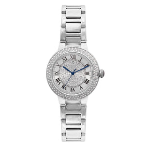 Roberto Carati Envy Crystal Silver Watch M8010-S