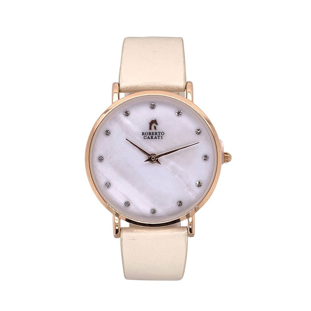 Roberto Carati Penelope Rose Gold Mother of Pearl Watch Watches Roberto Carati