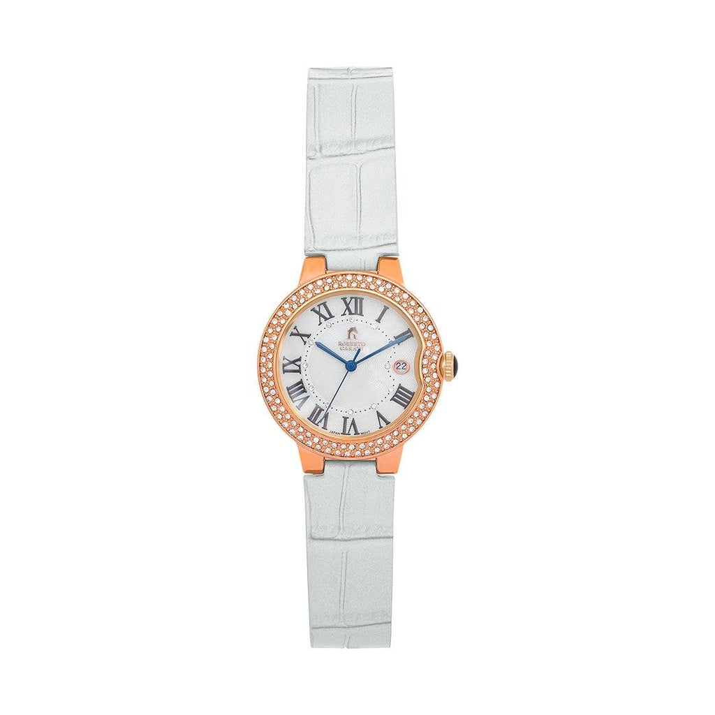 Roberto Carati Taylor Rose Crystal Watch Watches Roberto Carati