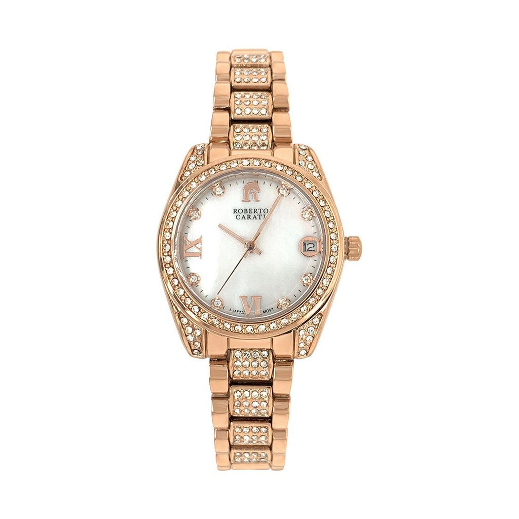 Roberto Carati Luna Rose Gold and Mother of Pearl Watch Watches Roberto Carati