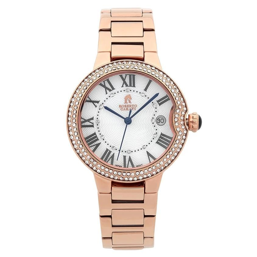 Roberto Carati Taylor Rose Stone Set Watch Watches Roberto Carati