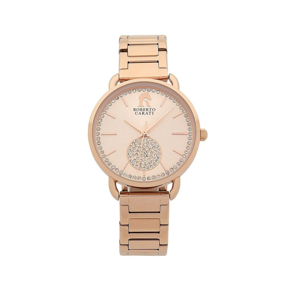 Roberto Carati Dorothy Rose Crystal Ladies Watch Model GT683-V2 Watches Roberto Carati