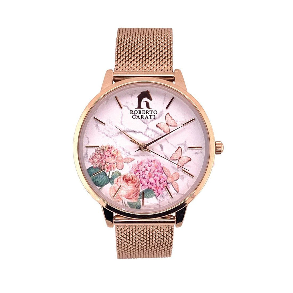Roberto Carati Summer Spritz Rose Gold Watch
