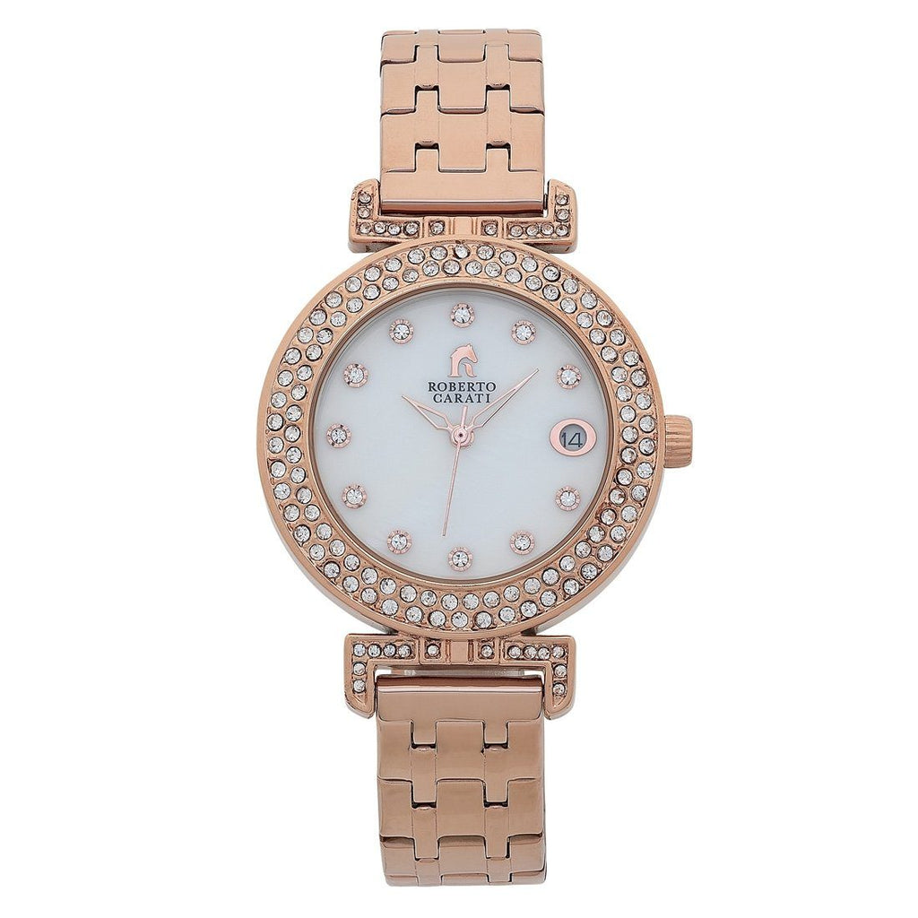 Roberto Carati Kristen Rose Ladies Watch Watches Roberto Carati