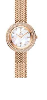 Roberto Carati Frankie Rose Gold Crystal Watch Watches Roberto Carati