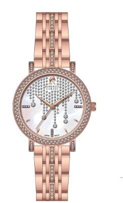 Roberto Carati Lauren Crystal Face Rose Tone Watch Watches Roberto Carati
