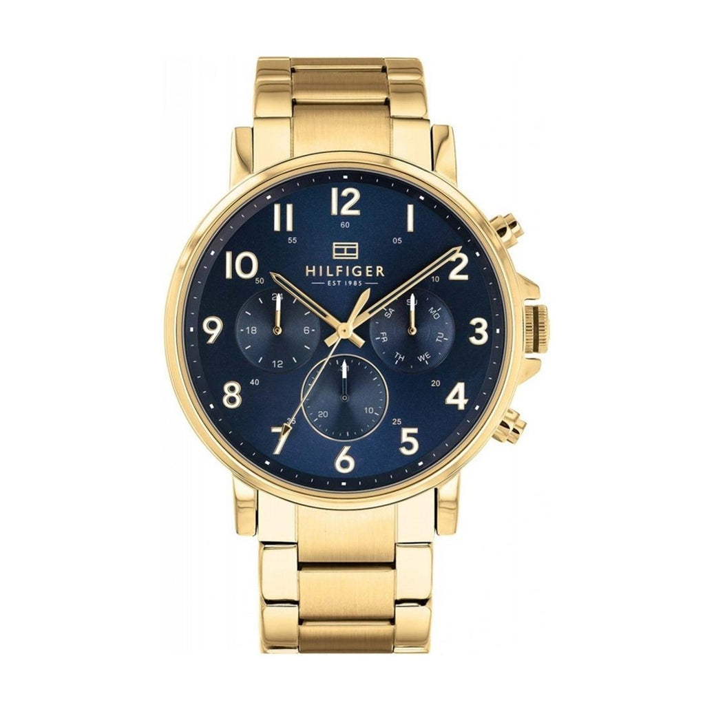 Tommy Hilfiger Daniel Multi Function Gold Stainless-Steel Watch Model 1710384 Watches Tommy Hilfiger