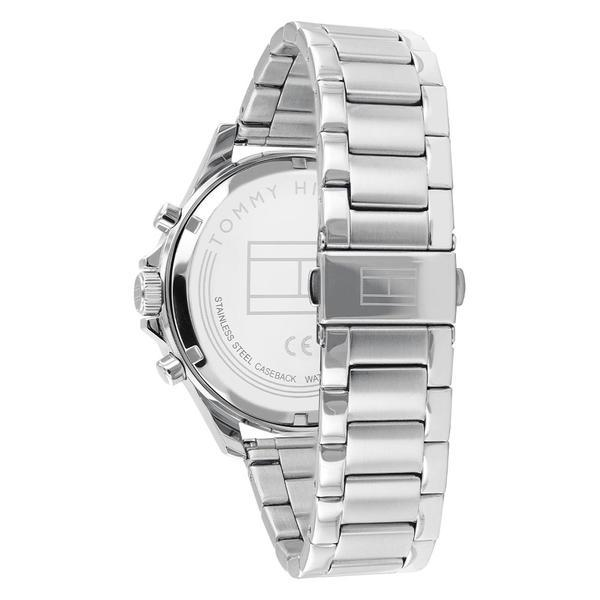 Tommy Hilfiger Bank Multifunction Silver Watch Model 1791718 Watches Tommy Hilfiger