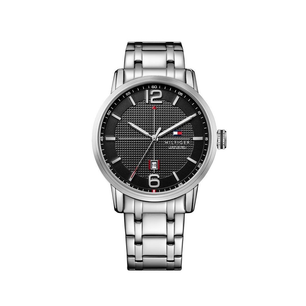 Tommy Hilfiger George Silver Watch 1791215