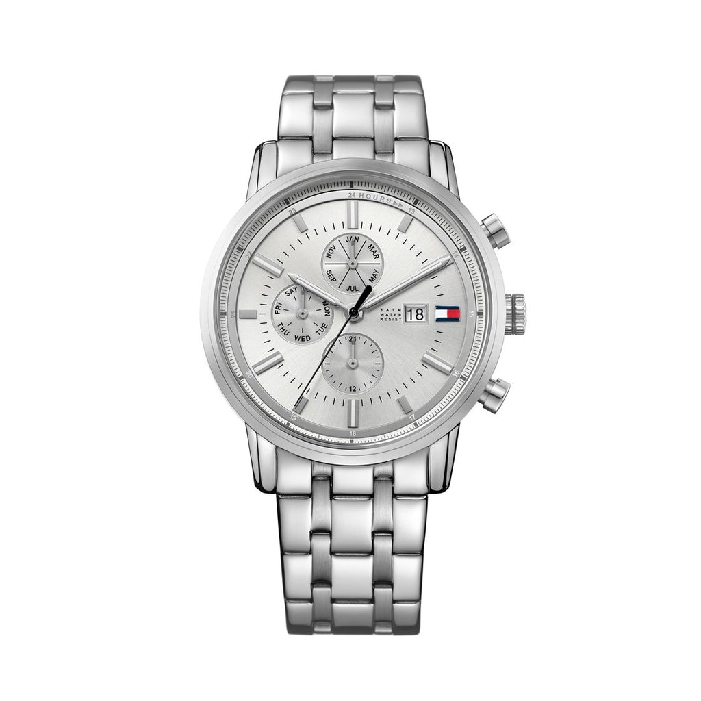 Tommy Hilfiger Harrison Silver Watch 1791247