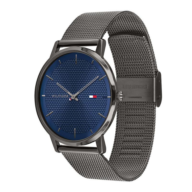 Tommy Hilfiger James Blue Grey Watch 1791656