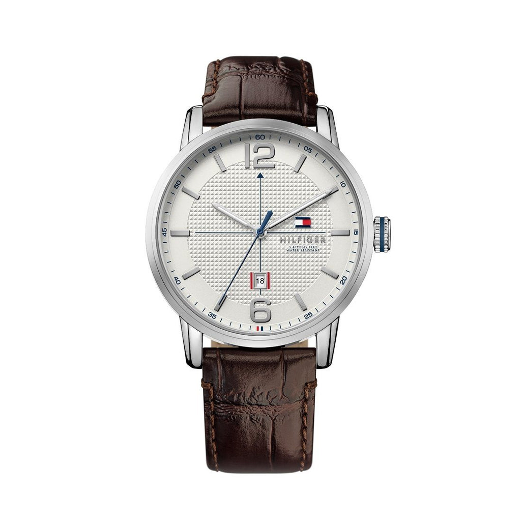 Tommy Hilfiger George Brown Leather Watch 1791217