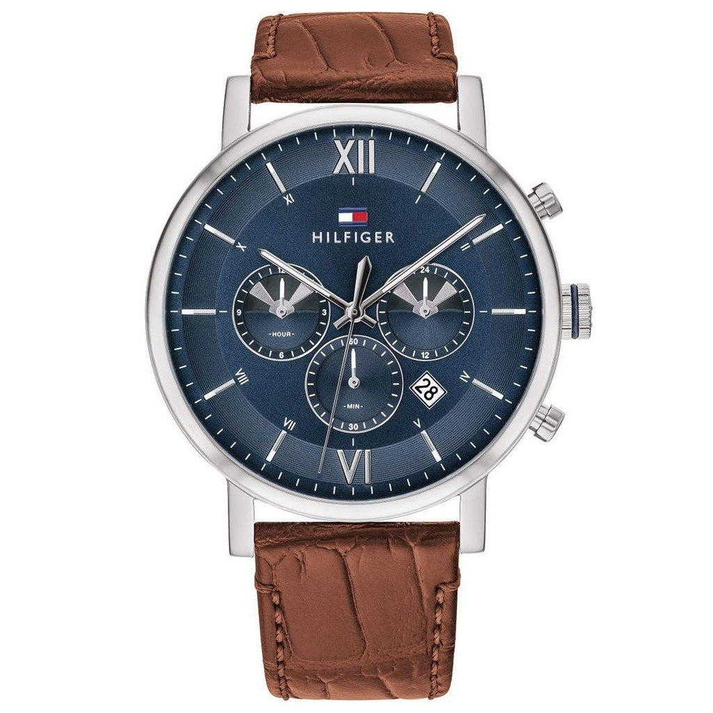 Tommy Hilfiger Evan Multifunction Blue Watch 1710393