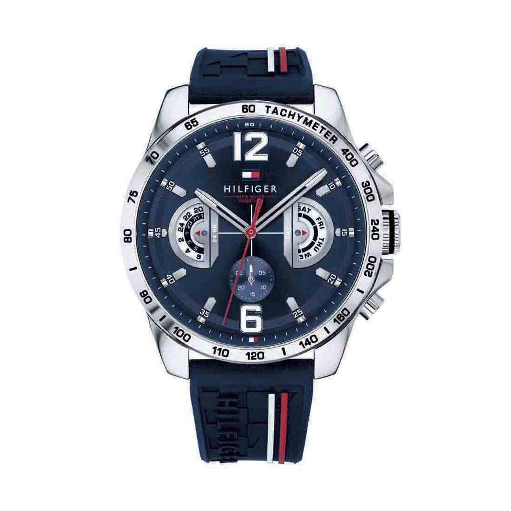 Tommy Hilfiger Multifunction Mens Blue Watch Model 1791476 Watches Tommy Hilfiger