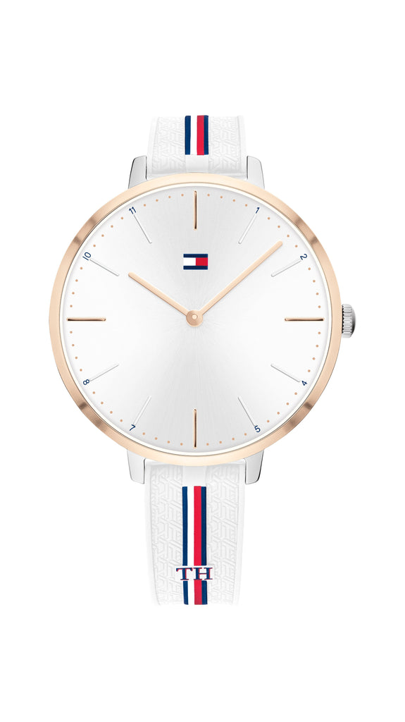 Tommy Hilfiger Alex White Watch 1782156