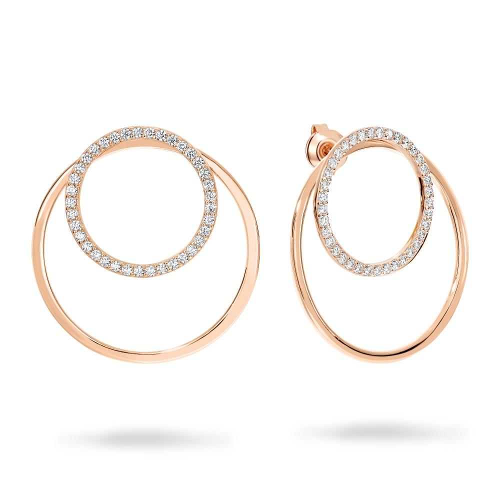 CAPRI ROSE GOLD EARRINGS Bevilles Jewellers