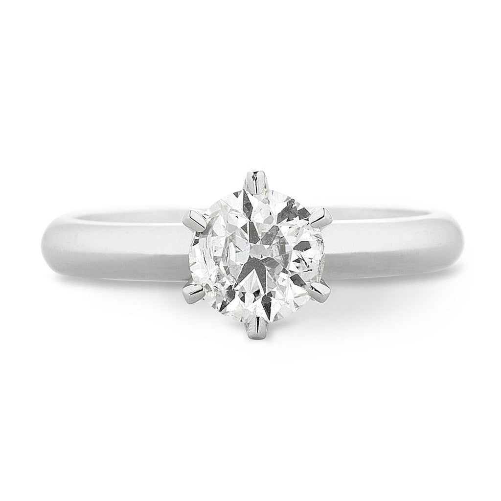 Facets of Love Tia Brilliant Love 18ct White Gold 0.40ct Diamond Ring