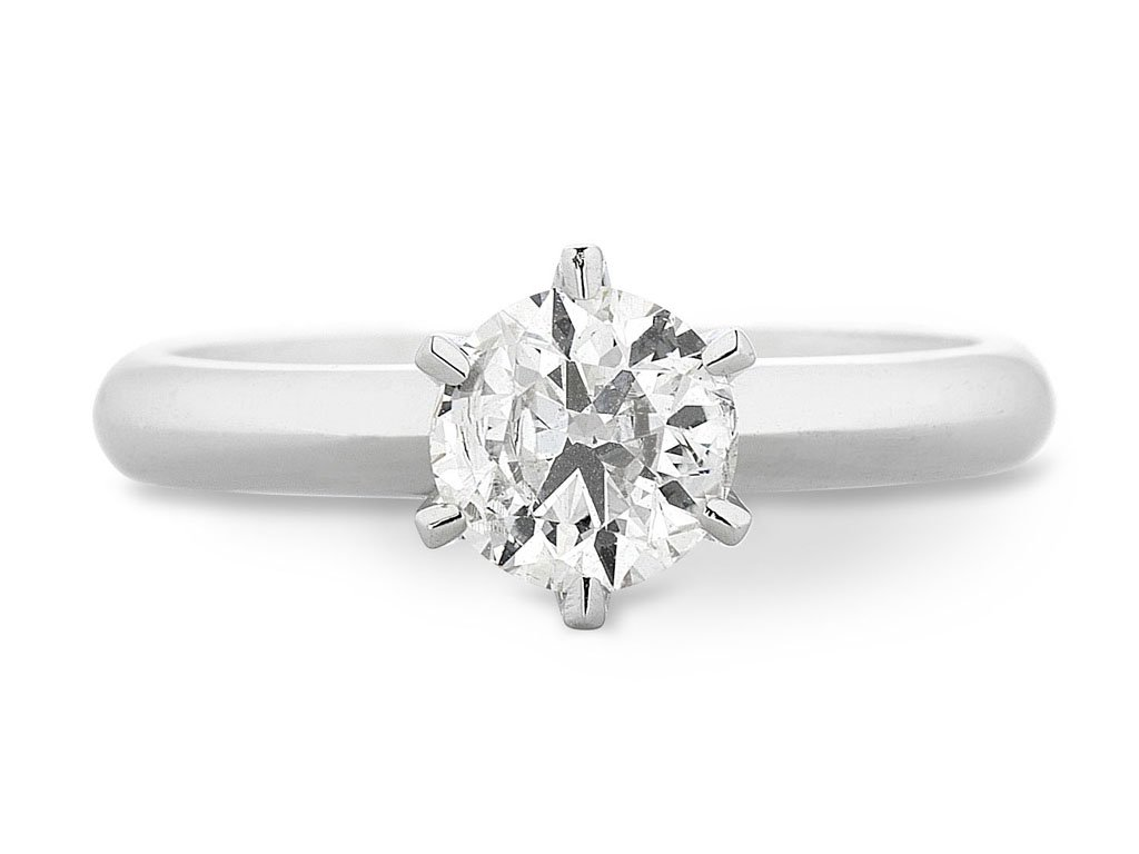Facets of Love Tia Brilliant Love 18ct White Gold 0.50ct Diamond Ring