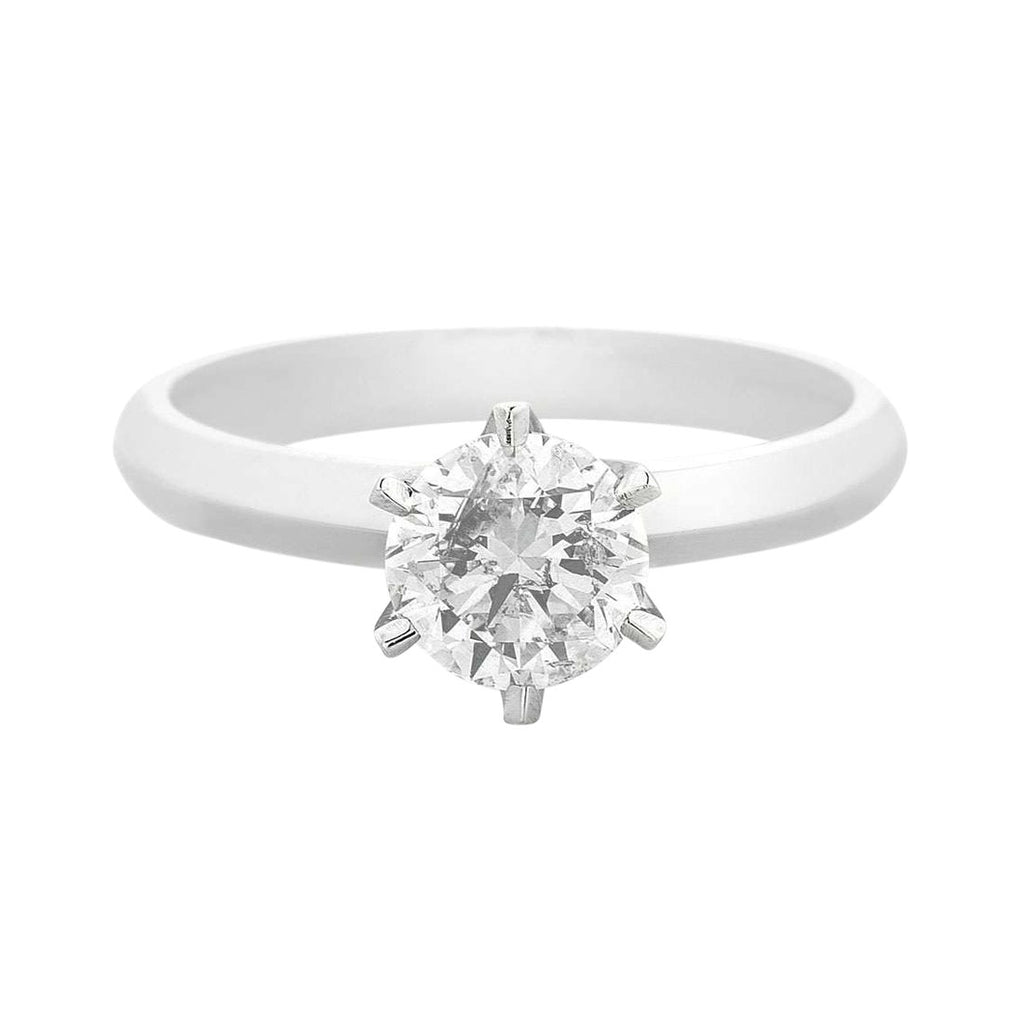 Facets of Love Tia Brilliant Love 18ct White Gold 0.60ct Diamond Ring Rings Bevilles
