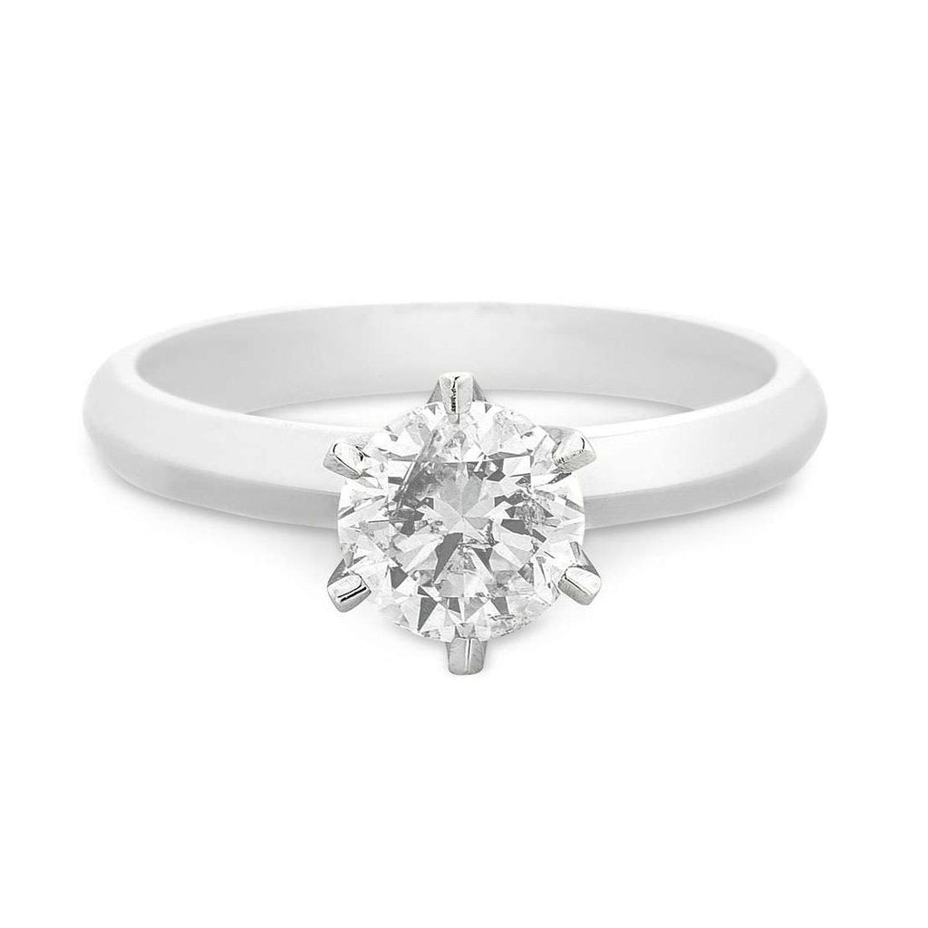 Facets of Love Tia Brilliant Love 18ct White Gold 0.80ct Diamond Ring