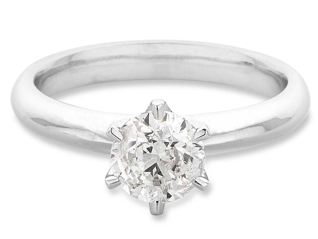 Facets of Love Tia Brilliant Love 18ct White Gold 0.70ct Diamond Ring Rings Bevilles