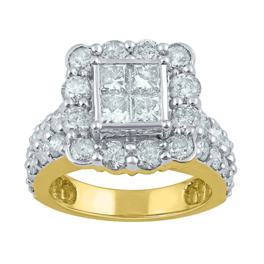 18ct Yellow Gold 2.78ct Diamond Ring