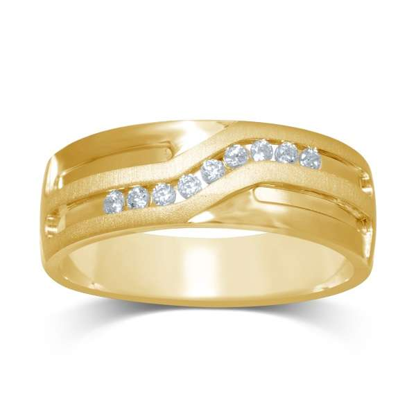 9ct Gold 0.15ct Diamond Ring